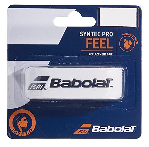 Babolat Syntec Pro X 1 Accesorio Raqueta de Tenis, Unisex Adulto, Blanco, Talla Única