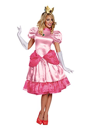 Generique - Disfraz Princesa Peach Mujer M