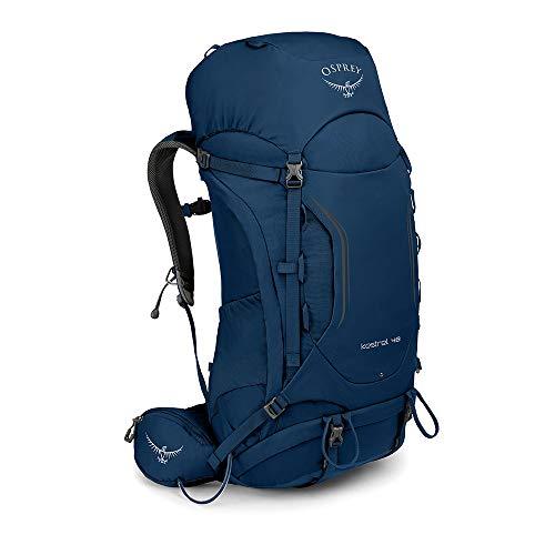 Osprey Kestrel 48 Men Hiking Pack: Loch Blue