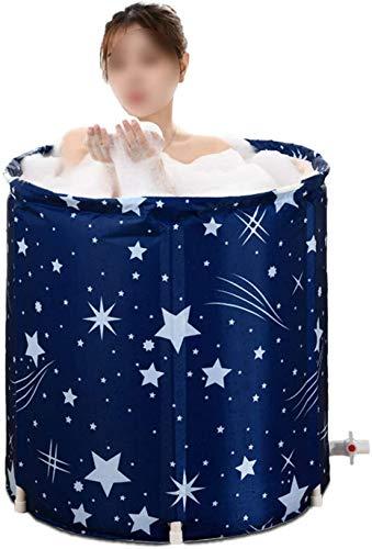 Badewanne Bathtub Faltende Wannenbad Fass Faltbare SPA Erwachsenen Wanne Badewanne Familienbad für Kind Erwachsene 65*70cm