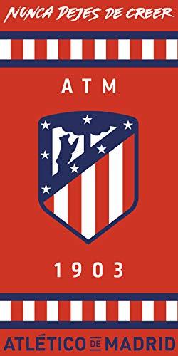 MADRID Atlético Toalla Microfibra Baño Playa Atlético Nunca Dejes De Creer ATM 1903 70x140cm (ATM1)
