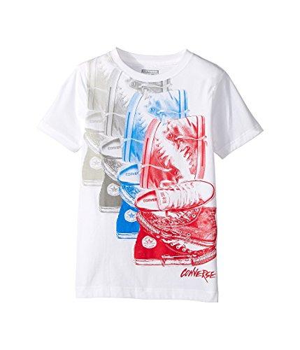 CONVERSE Camiseta estampada de manga corta - Blanco - Ni�o mixto