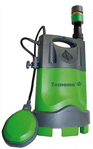 Tecnoma Flowmax Vuilwaterpompen, 9500L, multi 3-in-1-400 W, 9500 l/s, 0,5 bar, max. Werkdiepte 5 meter, meerkleurig
