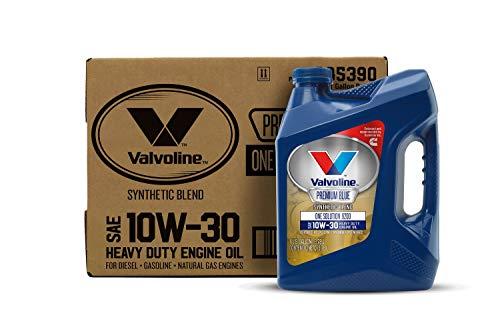 Valvoline - 885390-CS Premium Blue One Solution 9200 SAE 10W-30 Diesel Engine Oil 1 GA, Case of 3