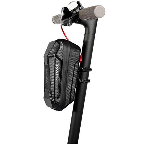 Bolsa de almacenamiento para scooter eléctrico para adultos, bolsa de tubo grande para manillar de scooter impermeable, bolsa para colgar en la parte delantera