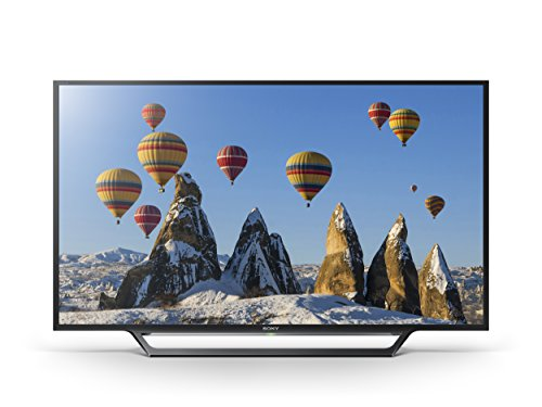 Sony Bravia KDL32WD603 32 inch HD Ready Smart TV with Freeview, HDD Rec and USB Playback (2016 Model) - Black