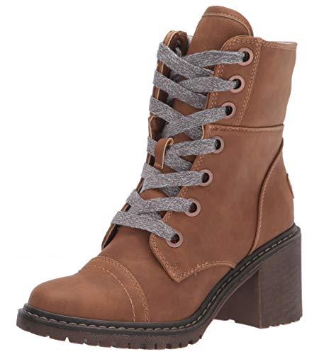 Roxy Women's Wander On Heeled Boot Fashion, Cocoa, 6