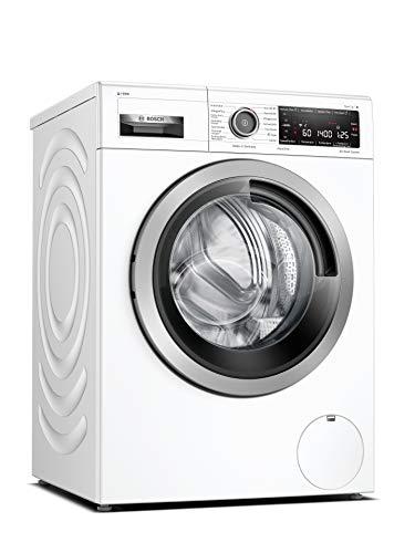 Bosch WAV28K43 Serie 8 Waschmaschine Frontlader/A / 48 kWh/100 Waschzyklen / 1400 UpM / 9 kg/Weiß/i-Dos / 4D Wash System/Automatik-Programme/Home Connect