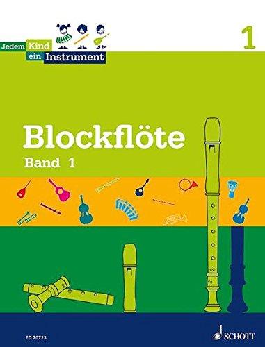 Jedem Kind ein Instrument: Band 1 - JeKi. Blockflöte. Schülerheft.: 2. Unterrichtsjahr - JeKi. Blockflöte, Schülerheft, Schwierigkeitsgrad 1