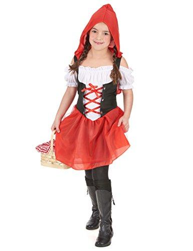 Déguisement chaperon rouge fille - 4 - 6 ans (S)