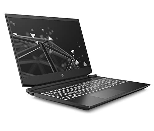 HP Pavilion 15-ec1001na 15.6 Inch Full HD Gaming Laptop - (Shadow Black) (AMD Ryzen 5 4600H, NVIDIA GeForce GTX 1650 (4 GB Dedicated) Graphics, 8 GB RAM, 256 GB SSD, Windows 10 Home)