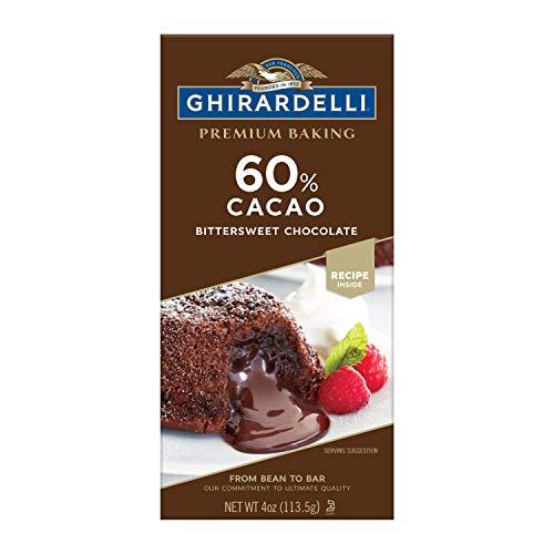 Ghirardelli Premium Baking Bar, 60% Cacao Bittersweet Chocolate, 48 Ounce