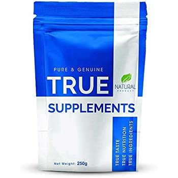 True Supplements Pure Micronised Creatine Monohydrate l 50 Servings l 250g