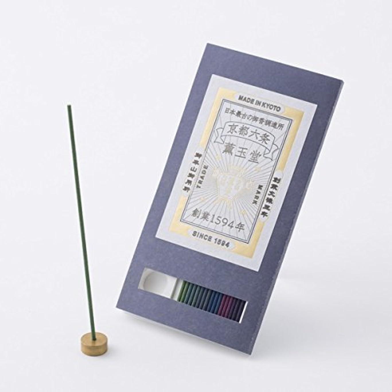 ストレージ絵アルミニウム【薫玉堂】 京の香り 試香 藍