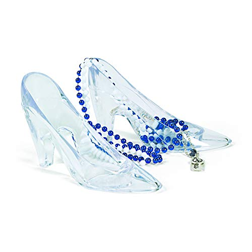 Fun Express Princess Shoes Glass Slipper Cinderella Shoes -...