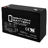 ML12-6F2-6 Volt 12 AH SLA - Mighty Max Battery Battery Brand Product