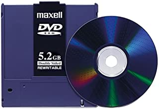 Maxell 636050 DVD 5.2GB Double-Sided Rewritable Disk (1-Pack) (Discontinued by Manufacturer)