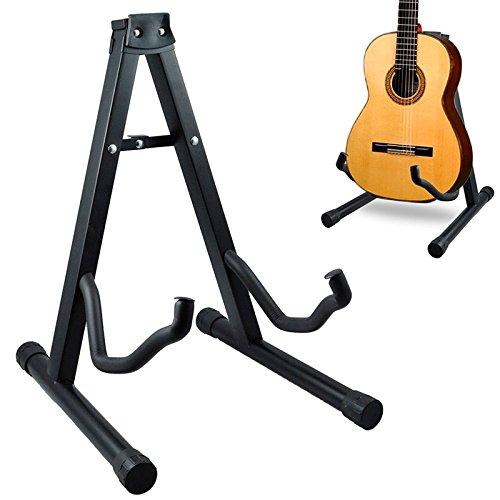 T-LoVendo 5.789 Soporte universal plegable de suelo para guitarra acústica eléctrica española
