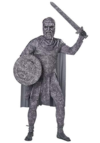 California Costumes Turned to Stone Adult Costume-X-Large Grey