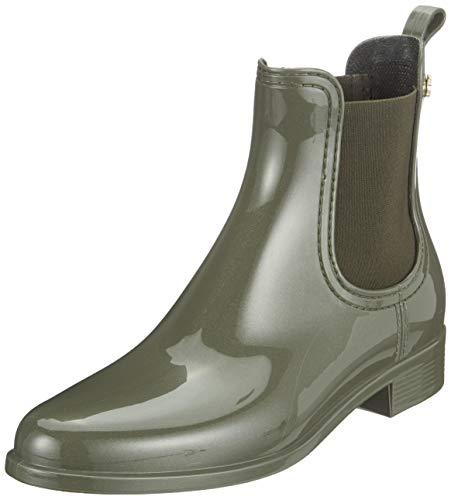 Lemon Jelly Damen Comfy Chelsea Boots, Grün (Metal Green 19), 42 EU