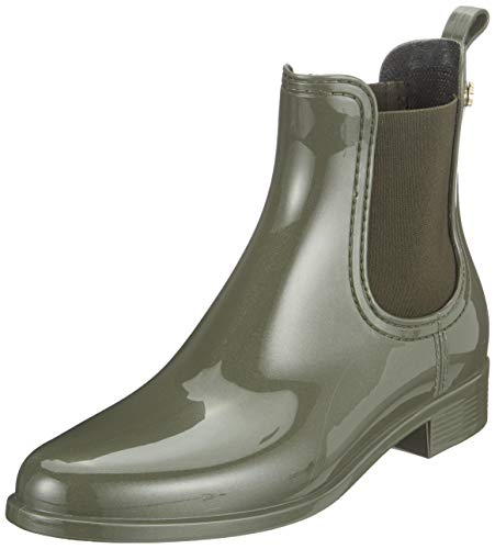 Lemon Jelly Damen Comfy Chelsea Boots, Grün (Metal Green 19), 39 EU