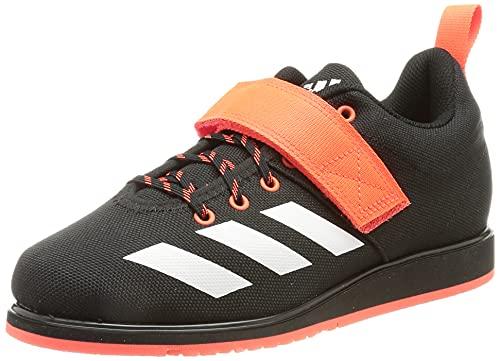 adidas Powerlift 4, Zapatillas de Running Hombre, NEGBÁS/FTWBLA/Rojsol, 43 1/3 EU