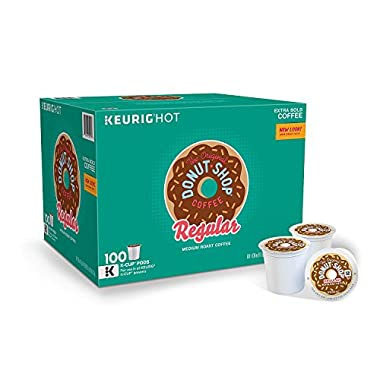 Green Mountain Coffee The Orginal Donut Shop Coffee, 100 Count (Packaging May Vary)