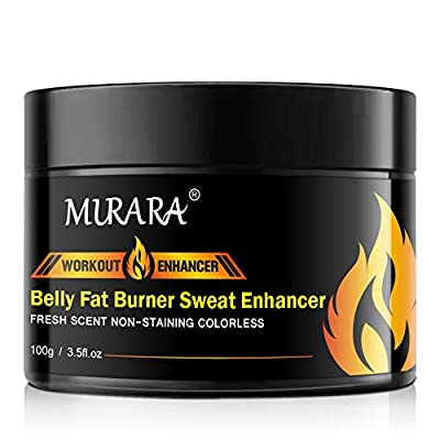 Hot Cream, Belly Fat Burner, Abdominal Muscle Toner Body Slimming Cream Workout Enhancer With HEAT Sweat Technology - Cellulite Removal Slimming & Firming Weight Loss Sweat Enhancer from Gobesi