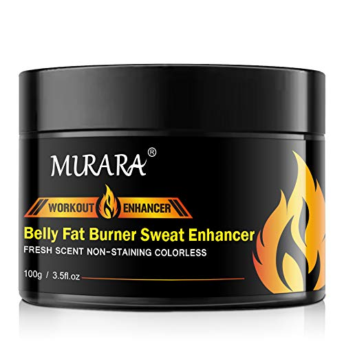 Fat Burning Cream for Belly, Hot Cream, Natural Sweat Workout Enhancer Gel, Slim Shaping Cream, Cellulite Treatment for Thighs, Legs, Abdomen, Arms and Buttocks, for Men or Women-3.5 Oz(100g) (1 Pack)