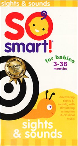 So Smart - Sights and Sounds [VHS] Children's Family Kids Movies Music