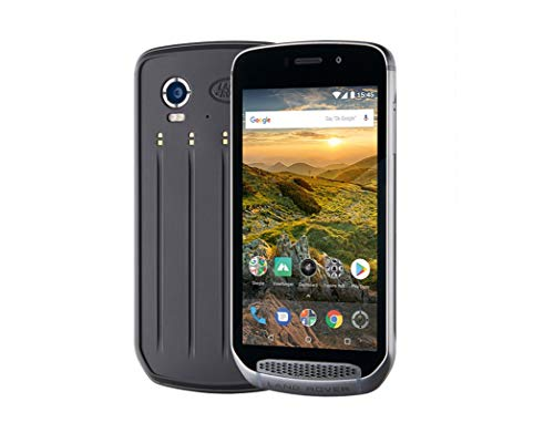Land Rover Explore Outdoor Smartphone (Display 12, 7 cm (5 Zoll), 16 MP Kamera, Android, Extrem Robust), 64 GB Schwarz