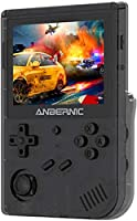 【Console de jeux portable Wi-Fi】Anbernic RG351V——cette console de jeu rétro avec un écran IPS haute définition de 3,5 pouces, l'effet d'image est très clair. Surtout comme Anbernic RG351M, avec la fonction WiFi, vous pouvez parfaitement vivre le jeu ...