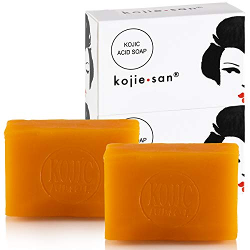 Original Kojie San Facial Beauty Soap - 135g, 2 Bars Per Pack - Guaranteed Authentic