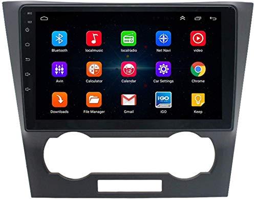 Hesolo Autoradio, GPS Lettore multimediale di Navigazione per Auto Compatibile per Chevrolet Epica 2006-2012 Modello Adatto per navigatore Video su Grande Schermo Macchina Integrata Reverse