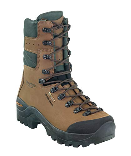 Kenetrek Men's Mountain Guide 400 Insulated Leather Hunting Boot, 11.5 Medium Brown