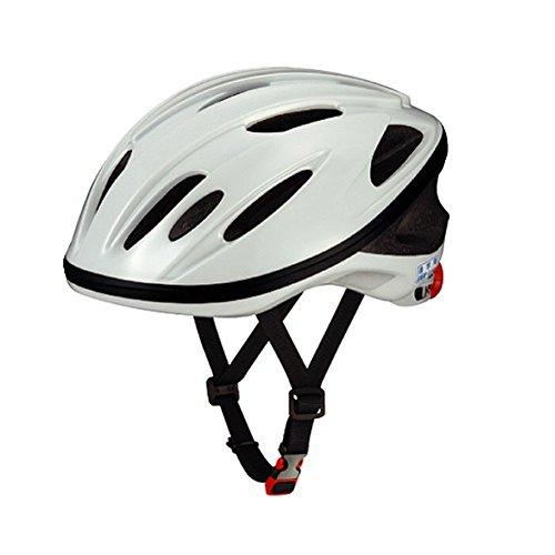 オージーケーカブト(OGK KABUTO) 自転車 ヘルメット スクール用 SN-10 ホワイト無地 テープなし サイズ:56~58cm
