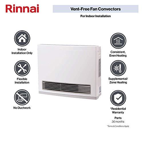 Rinnai FC824N Vent-Free Natural Gas Heater