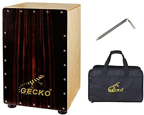 Cajon Box Drum-Wooden Percussion Box musical instrument bass drum box acoustic box...