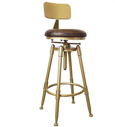 tabouret de bar DBL Polyvalent Hauteur comptoir Robuste Construction Tabouret Chaise Assemble Minimaliste Commercial Design utilise Assemblée Dynamique Rapide Fer + Flanelle