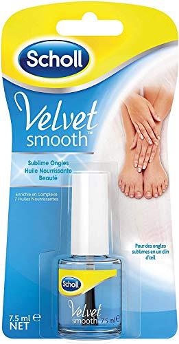 Scholl Velvet Smooth Huile Nourrissante pour ongles - 7,5 ml