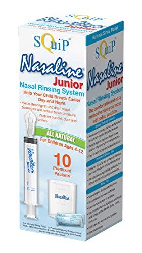 Squip Nasaline Junior Nasal Rinsing System, 3.1 Fl Oz (Pack of 1)