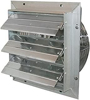 J&D Manufacturing VES201 ES Aluminum Shutter Fan, 20