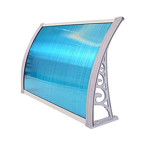 Deurluifel luifel, deur canopy terras dakaluminiumlegering PC polycarbonaat 60×80cm