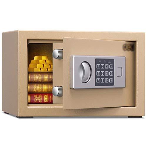 Y-BXX Tresor Safe feuerfest Safe Kleines Büro Vertraulicher Aktenschrank Brandschutztresor aus Stahl mit elektronischem Schließfach