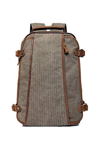 YGMDSL  Mochila  Bolso   Bolsa De Viaje  Material Calidad  Garantía Armygreen 40Cm 29Cm
