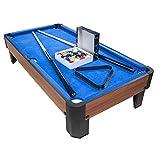 PLAY4FUN Billard de Table avec Accessoires - Kit Billard Compact de Bureau ou Salle de Jeu, 102 x 51...