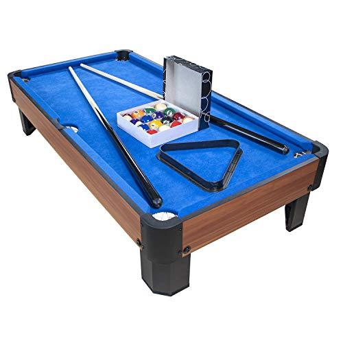 PLAY4FUN Billard de Table avec Accessoires - Kit Billard Compact de...