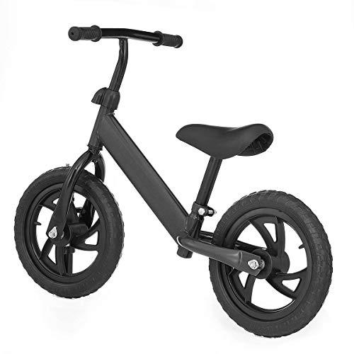 QHY Baby Laufrad Gehhilfe Kinder Reiten Auf Spielzeug Geschenk Zum 2-6 Jahre Alt Kinder Zum Lernen Zwei Rad Roller...