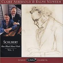 Schubert Piano Works Vol.1
