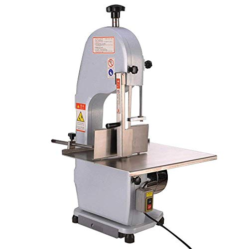BMGIANT 1100W Electric Bone Cutting Machine Commercial Frozen Meat Slicer Meat Grinder Cutter Thickness Adjustable for Restaurant